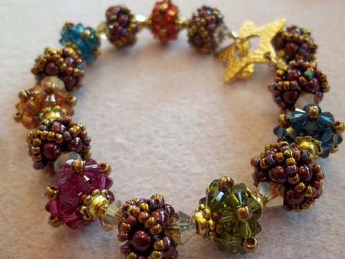 Belle of the Ball Bracelet Tutorial