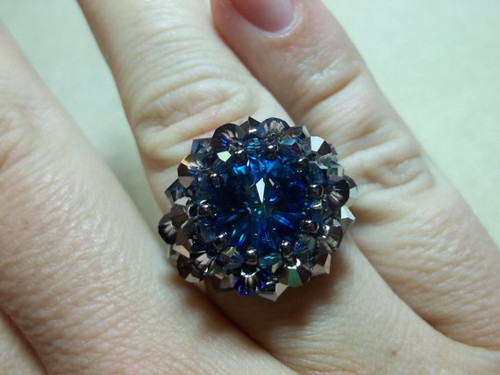 Raging Rivoli Ring INSTANT DOWNLOAD Tutorial
