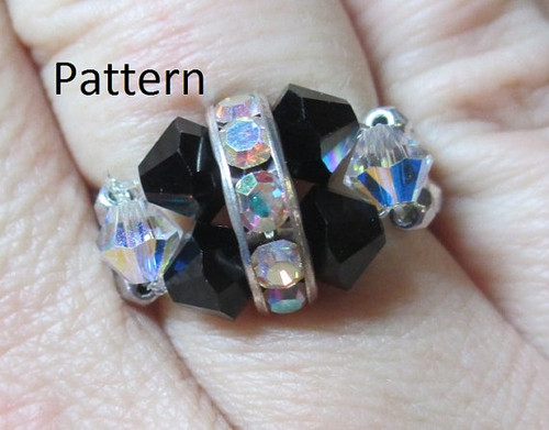 Rockin Rhinestone Ring INSTANT DOWNLOAD Tutorial
