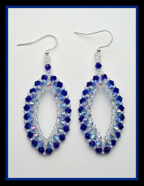 Raining on Prom Night Earrings INSTANT DOWNLOAD Tutorial