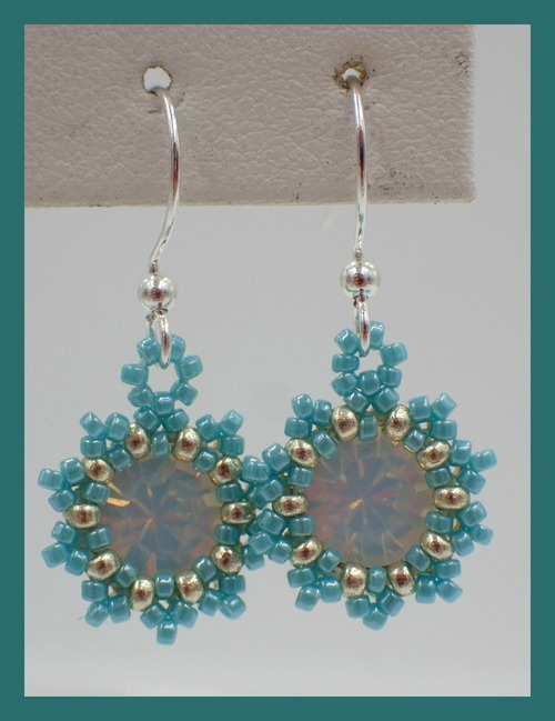 Sunburst Earrings Instant Download Pattern