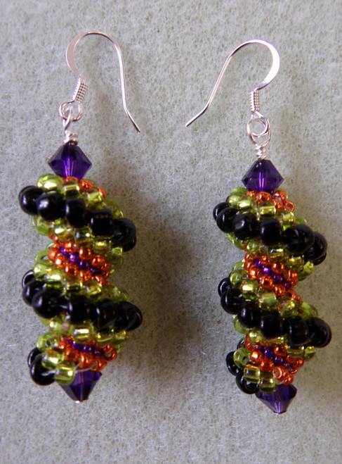 Whirly Twirley Earrings Tutorial
