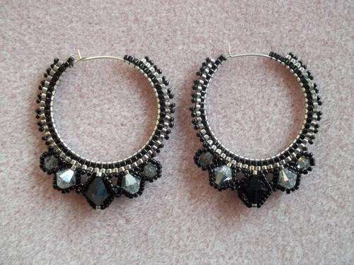 Haute Hoop Earrings Tutorial