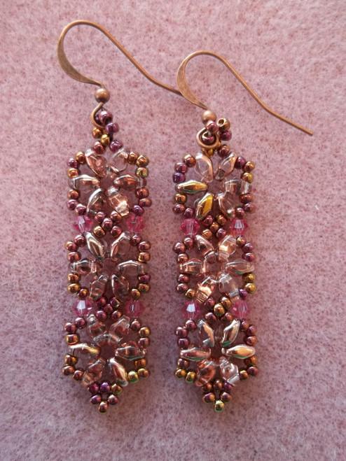 Hexagon Duo Earrings Tutorial