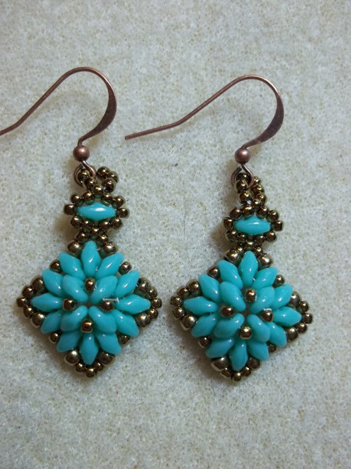 Corundom Earrings Tutorial