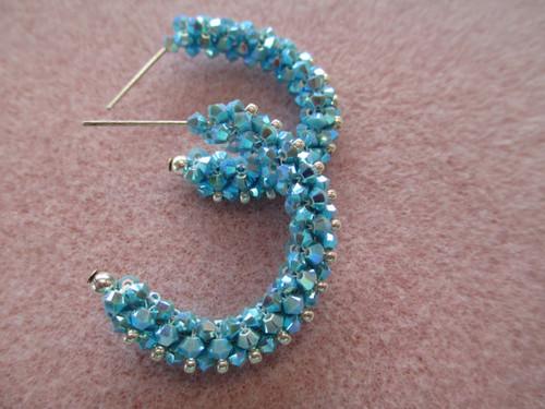 Lovely Laurie Hoop Earrings Tutorial