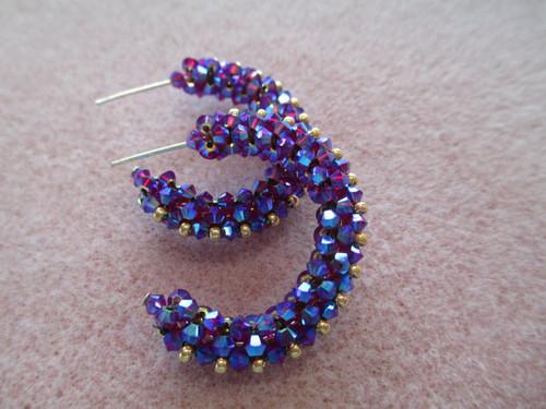 Lovely Laurie Hoop Earrings INSTANT DOWNLOAD Tutorial