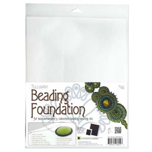 4pk White Beading Foundation 8.5x11