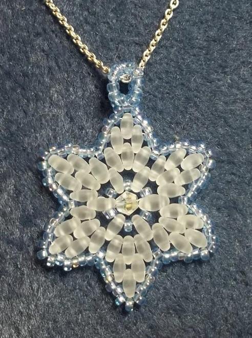 Winter Wonderland Snowflake Pendant Tutorial