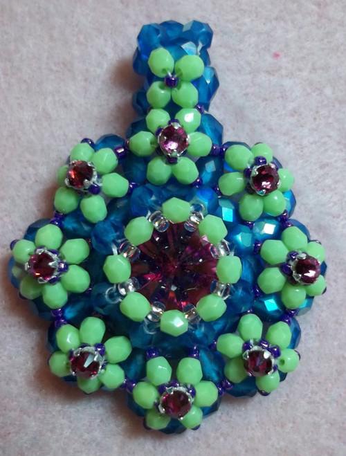 Tula Flower Pendant Tutorial