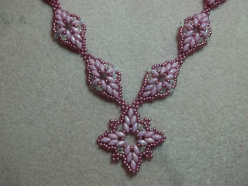Diamond Duo Necklace Tutorial