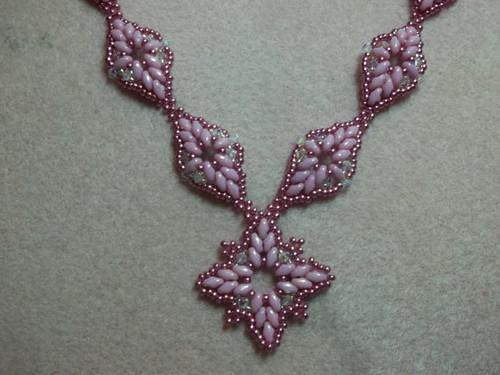 Diamond Duo Necklace Tutorial