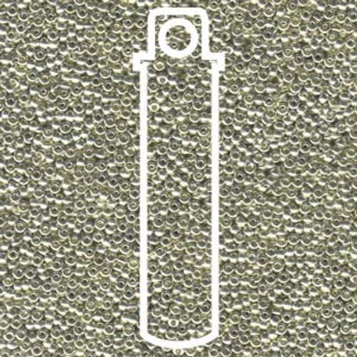 15/0 Miyuki Galvanized Silver 15-9181 (8 Grams)