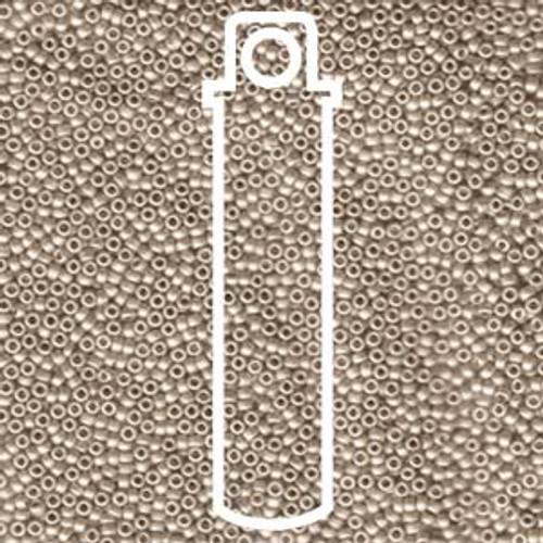 15/0 Matte Cream Miyuki Seed Beads