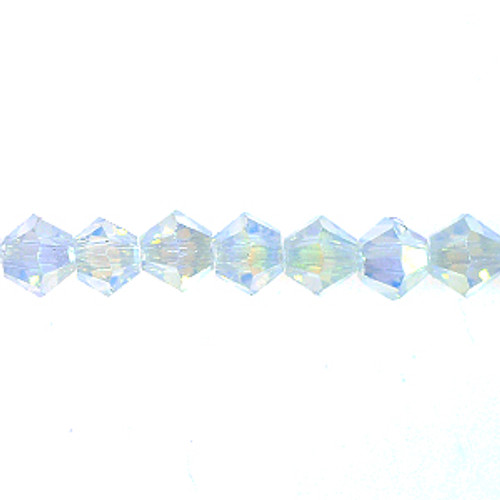 4mm Opal Thunder Polish Crystal Bicones