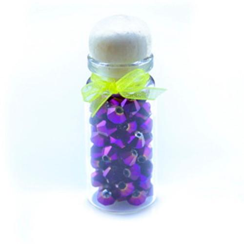 4mm Purple Light Thunder Polish Crystal Bicones (144pk) 4BI40