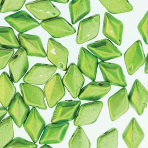 8 Grams 8x5mm Metalust Apple Green Gemduo