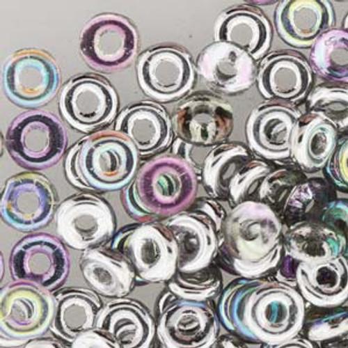 Crytsal Silver Rainbow O Bead
