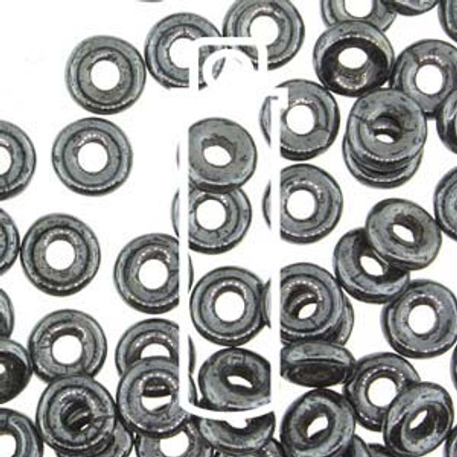 Hematite O Beads (8 Grams)