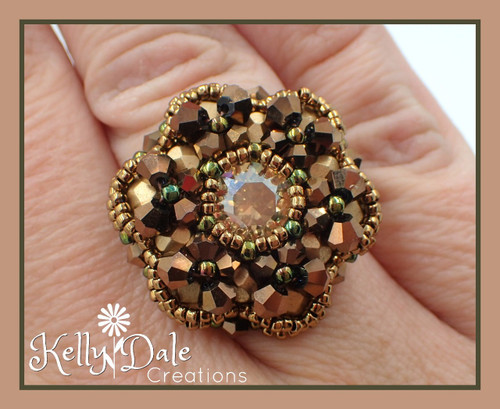 Copper Bloom Ring- Finished Jewelry