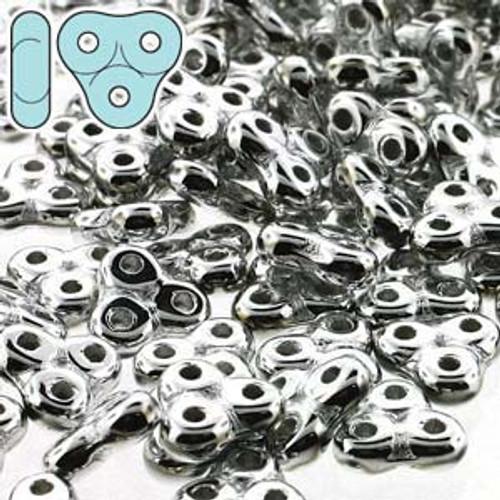 8 Grams 3x6mm Full Labrador Trinity Beads