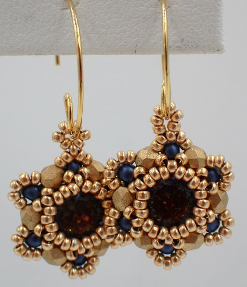 Tiny Tammy Earrings INSTANT DOWNLOAD Tutorial