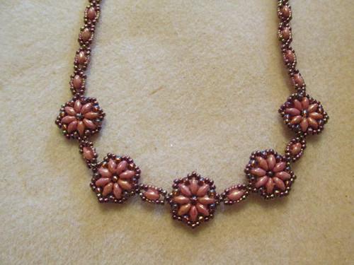 Fun Floral Necklace Tutorial