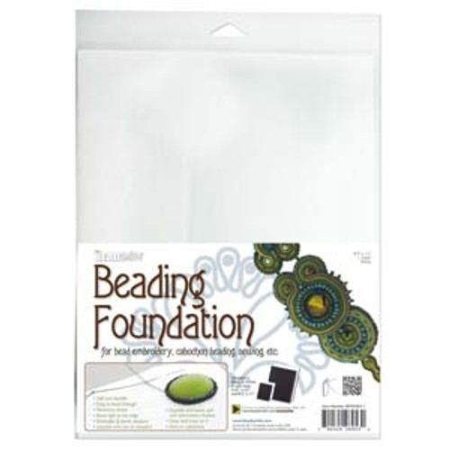 8.5x11 White Beading Foundation
