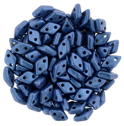 Metallic Suede Blue Czechmate Diamond (8 Grams)