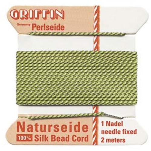 Number 10 Jade Griffin Silk Cord