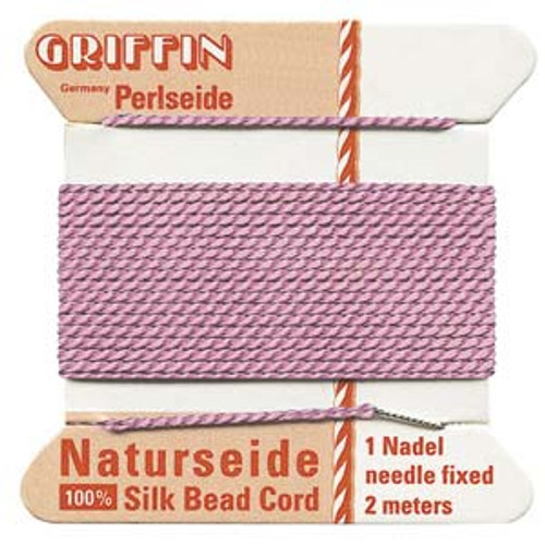 Number 8 Dark Pink Griffin Silk Cord