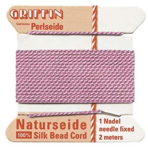 Number 6 Dark Pink Griffin Silk Cord
