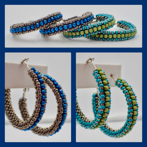 c2bc28a94 Step by Step Tutorials - Earrings Patterns - Page 1 - Off the Beaded ...