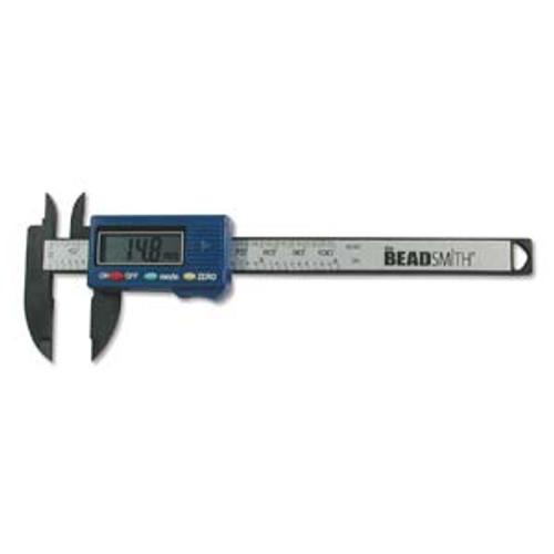 BEADSMITH DIGITAL CALIPER 4 IN-100MM/ CARBON FIBER