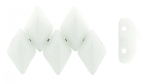 Opaque White Gemduo (8 Grams)