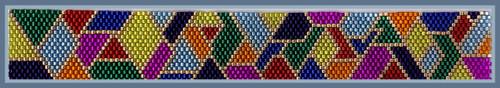 Coat of Many Colors Bracelet PRINTED Pattern