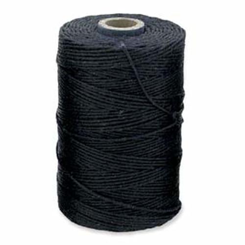 Navy Blue 4ply Irish Waxed Linen (10 Yards)