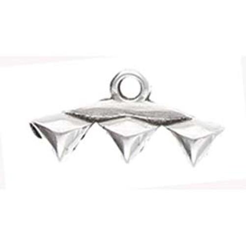 Vani III Gemduo Ending Antique Silver 2pk