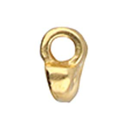 Remata Superduo Bead Endings 2pk Gold Plated