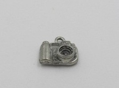 Digital Camera Pewter Charm