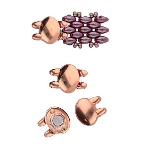 Kypri Superduo Magnetic Clasp Rose Gold (1 Clasp)