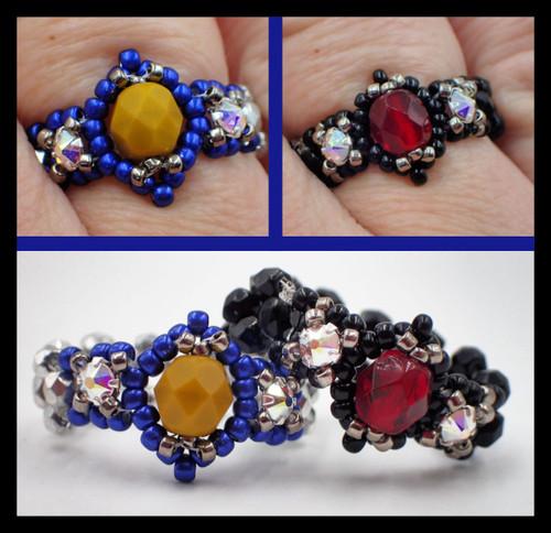 Birthstone Ring Kit - Garnet Color Scheme