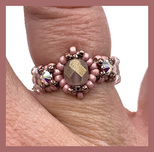 Birthstone Ring Kit - Coral Color Scheme