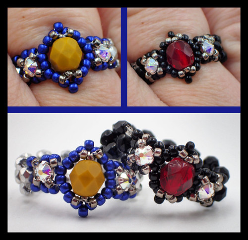 Birthstone Ring PRINTED Pattern - Mailed to your home