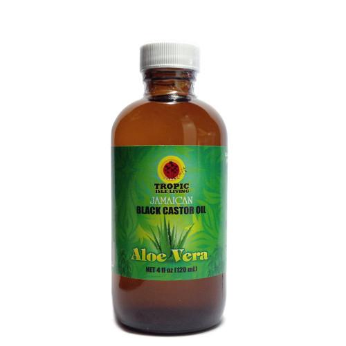 Tropic Isle Living Aloe Vera Jamaican Black Castor Oil