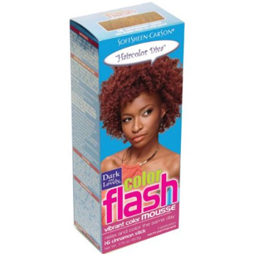 Dark and Lovely Color Flash Vibrant Color Mousse