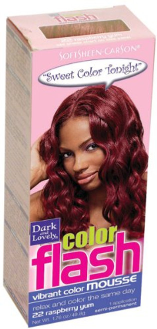 Dark and Lovely Color Flash Vibrant Color Mousse - iROK Curls USA