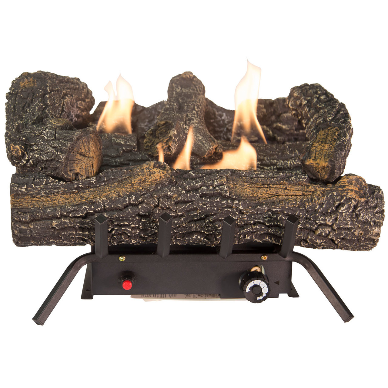 Comfort Glow Gld1856t Propane Lp Or Natural Gas Ng Vent Free 18 In Black Forest Log Set 30 000 Btus World Marketing Of America Inc