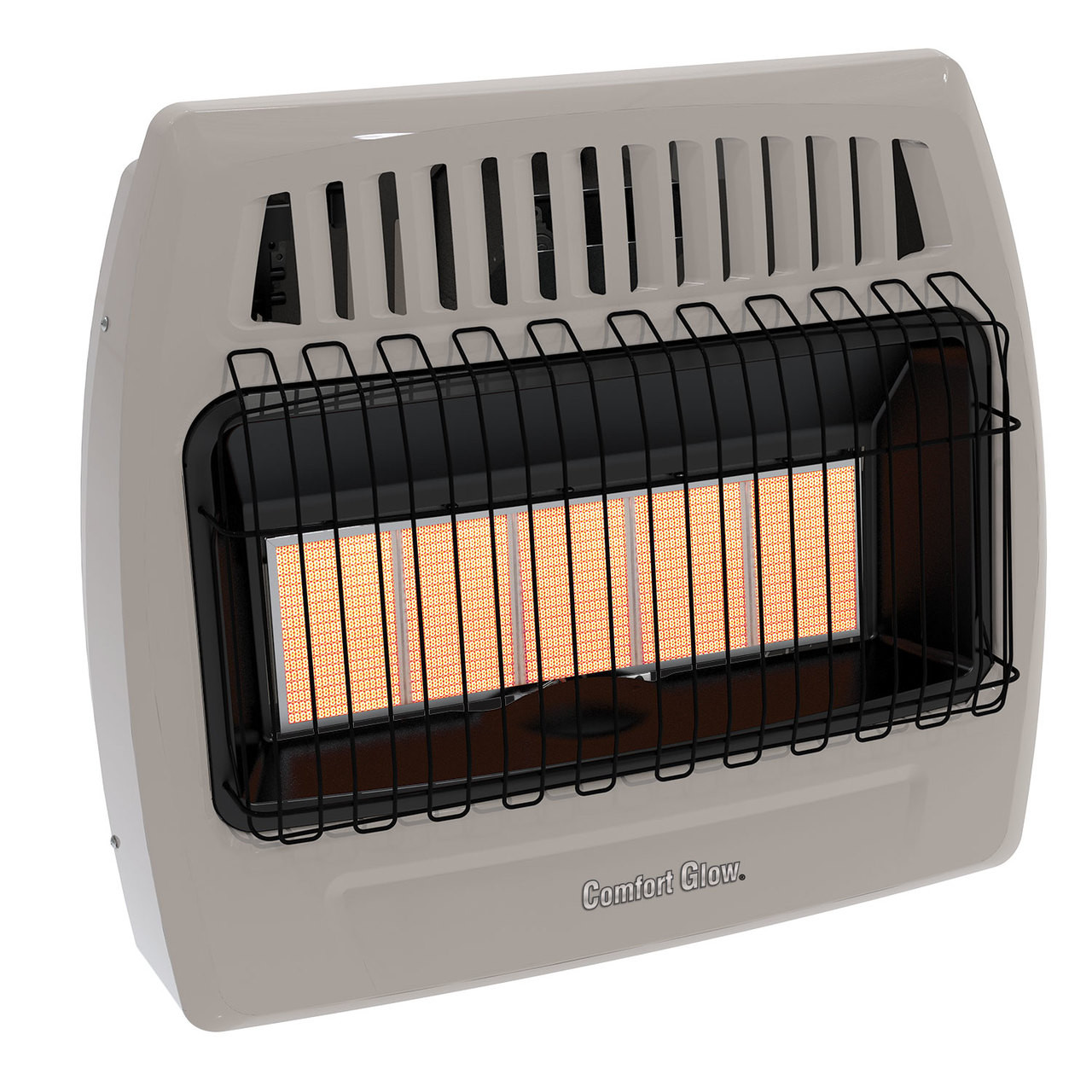 Comfort Glow Kwd526 30 000 Btu 5 Plaque Propane Lp Natural Gas Infrared Vent Free Wall Heater World Marketing Of America Inc