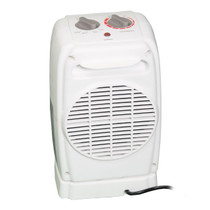 oscillating ceramic safety heater back